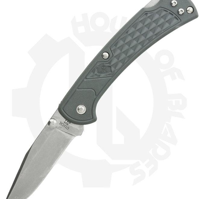Buck Slim Ranger 0112GYS2 - Gray (Manual Folding Knife)