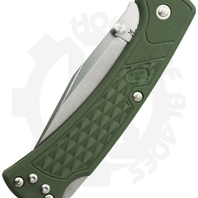 Buck Slim Ranger 0112ODS2 - OD Green (Manual Folding Knife)