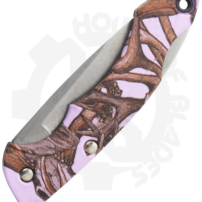 Buck Bantam Nano Deer Skull 0283CMS16 - Lavender (Manual Folding Knife)