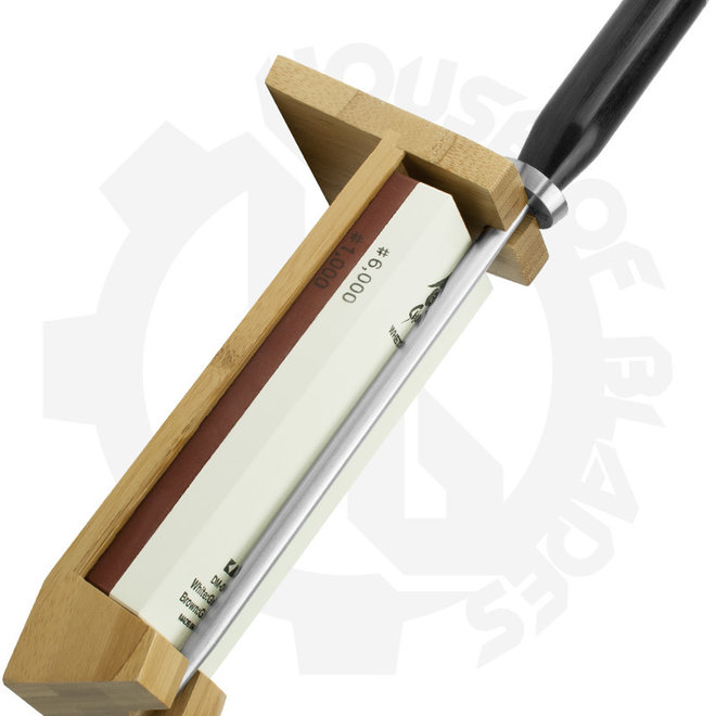 Shun Three Piece Whetsone Sharpening System w/ Honing Steel DM0610 - (Stone)