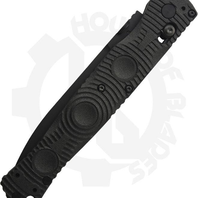 Benchmade Black Class SOCP 391SBK - Serrated Black (Manual Folding Knife)