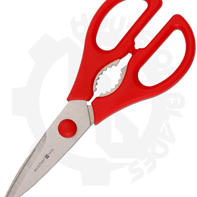 Wusthof 5558-R Come-Apart Shears, Scissors Red Kitchen Accessory