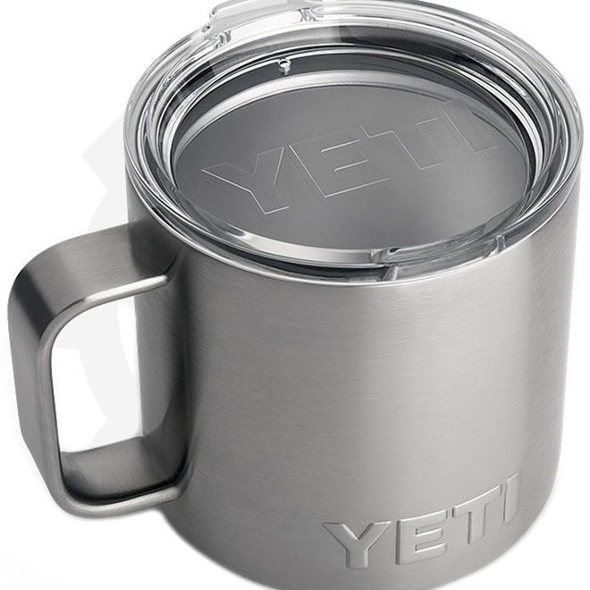 YETI Rambler 14 oz. w/ Lid - Stainless (Drinkware - Mugs)