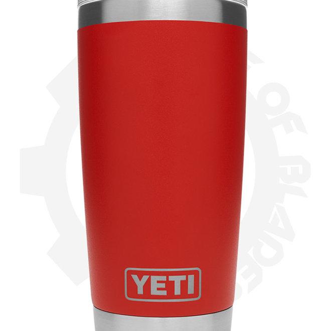 YETI Rambler 20 oz. - Canyon Red (Drinkware - Tumbler)