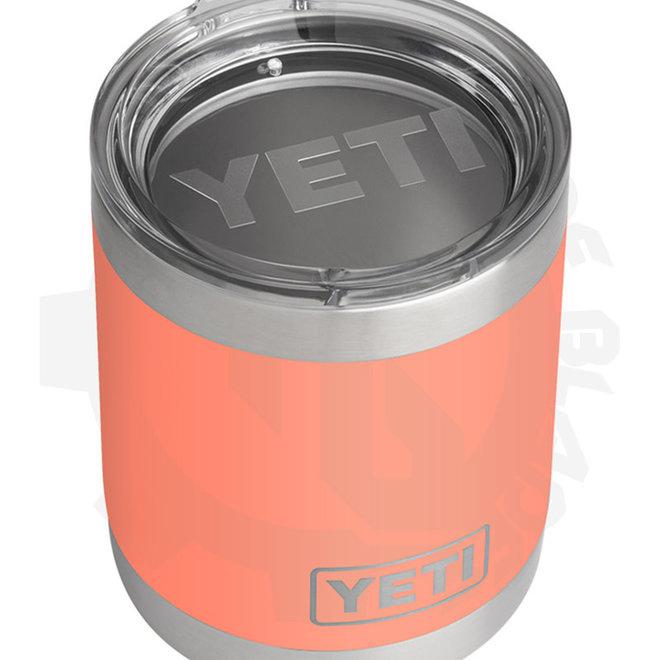 YETI Rambler 10 oz. Lowball - CORAL (Drinkware - Tumbler)