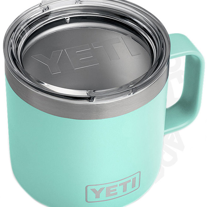 YETI Rambler 14 oz. w/ Lid - Seafoam (Drinkware - Mugs)