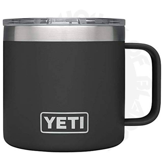 YETI Rambler 14 oz. w/ Lid - Black (Drinkware - Mugs)