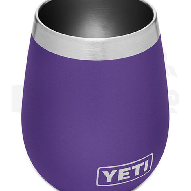 YETI Rambler YRAM10WPPUR 10 oz. Wine Tumbler Peak Purple Drinkware - Tumbler