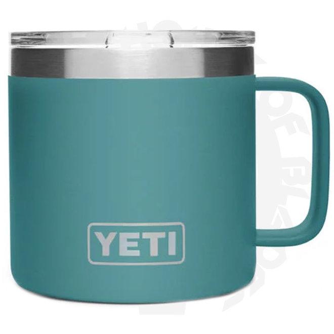 YETI Rambler 14 oz. w/ Lid - River Green (Drinkware - Mugs)