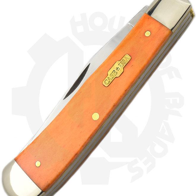 W.R. Case  10310 - Persimmon Orange (Traditional Trapper)