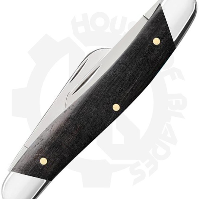 W.R. Case Medium Stockman 32451 - Ebony Wood (Manual Folding Knife)