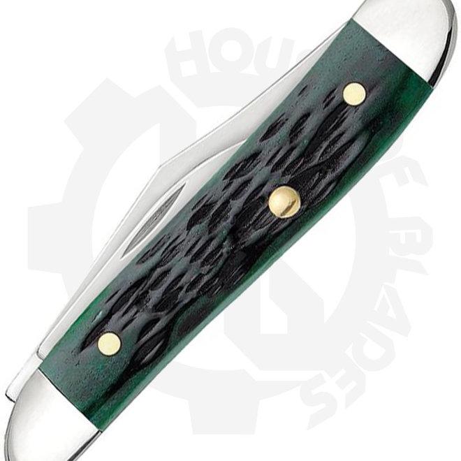 W.R. Case  Peanut  09726 - Bermuda Green (Traditional Knife)