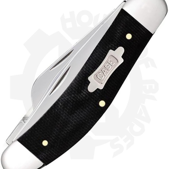 W.R. Case  Canvas Laminate Sowbelly  23141 - Black (Traditional Knife)