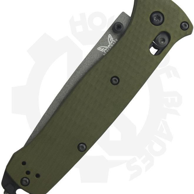 Benchmade Black Class Bailout 537SGY-1 - Serrated Grey (Manual Folding Knife)