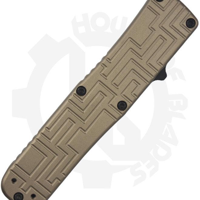 Boker 06EX262 USA OTF Tan Auto OTF Knife