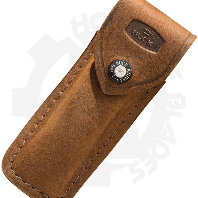 Buck 110 Folding Hunter 0110-06-BR4 - Distressed Brown (Sheath)