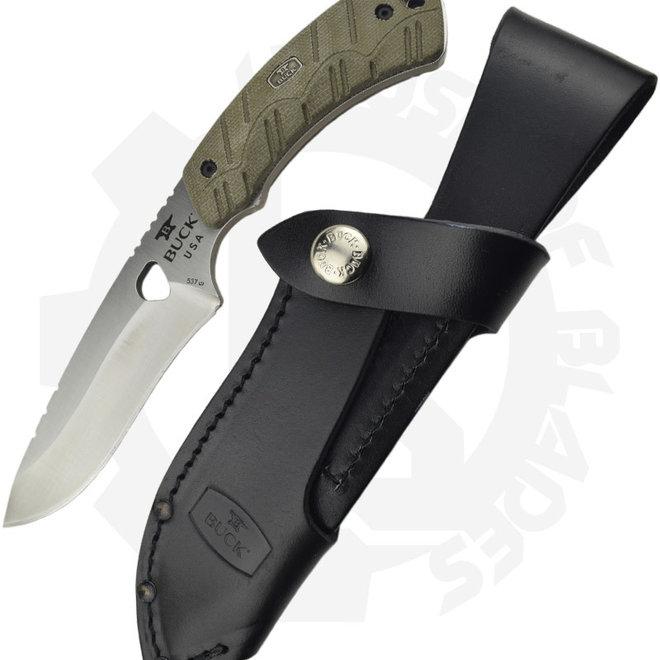 Buck Open Season Skinner 0537ODS - OD Green (Fixed Blade)