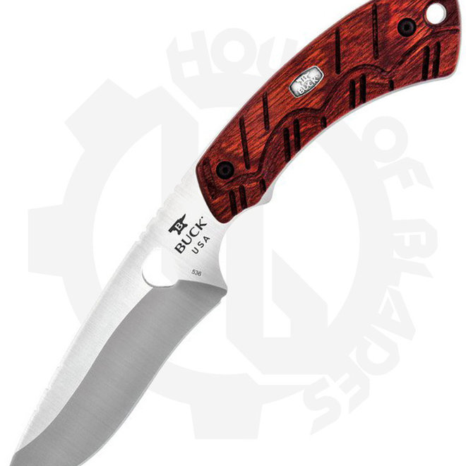 Buck Open Season Skinner 0536RWS - Red Wood (Fixed Blade)