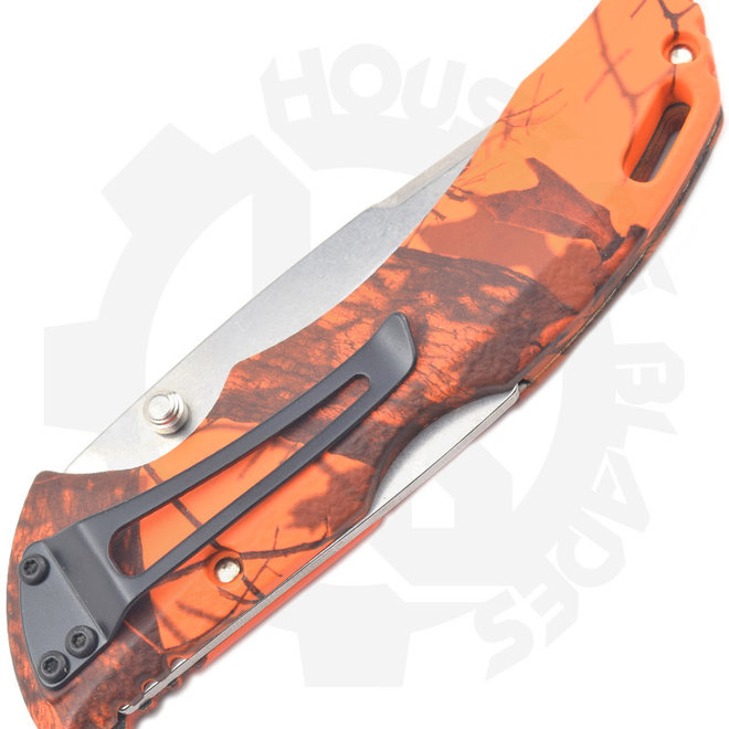 Buck Bantam Mossy Oak 0286CMS9 - Camo Orange Blaze (Manual Folding Knife)