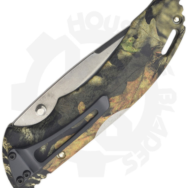 Buck Bantam Mossy Oak 0286CMS24 - Camo (Manual Folding Knife)