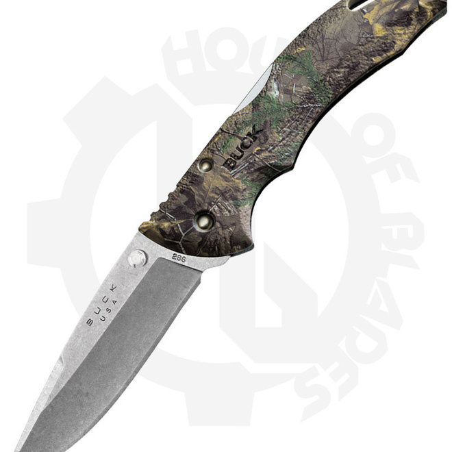 Buck Bantam Realtree 0286CMS18 - Camo (Manual Folding Knife)
