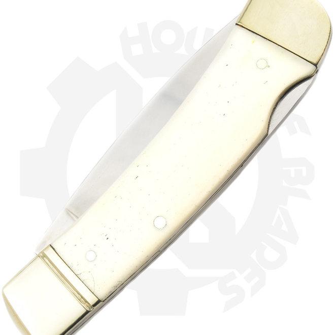 Boker 110250WB Gentleman' s Lockback White Bone Traditional Knife