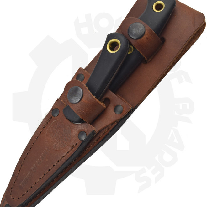 Knives of Alaska Jaeger/Cub Bear 00256FG Combo Suregrip Fixed Blade Knife