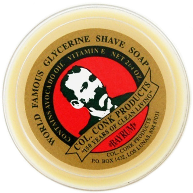 Colonel Ichabod Conk 143 Shave Soap 2.25 oz. Ivory Accessory - Shaving
