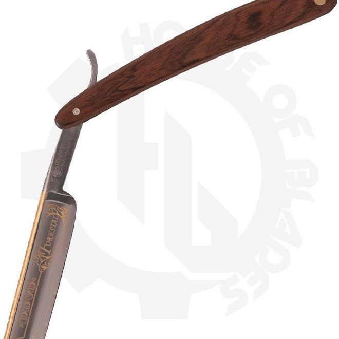 Dovo FOrestal 5/8'' cocobolo straight razor