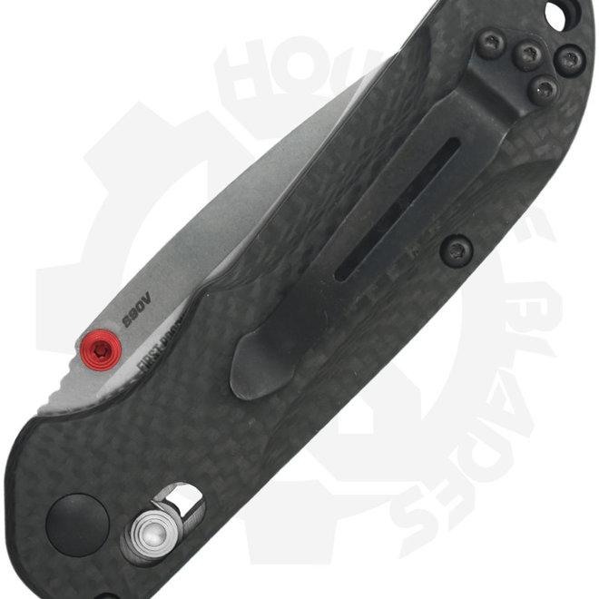 Benchmade Blue Class Mini Freek 565-1 - Carbon Fiber (Manual Folding Knife)