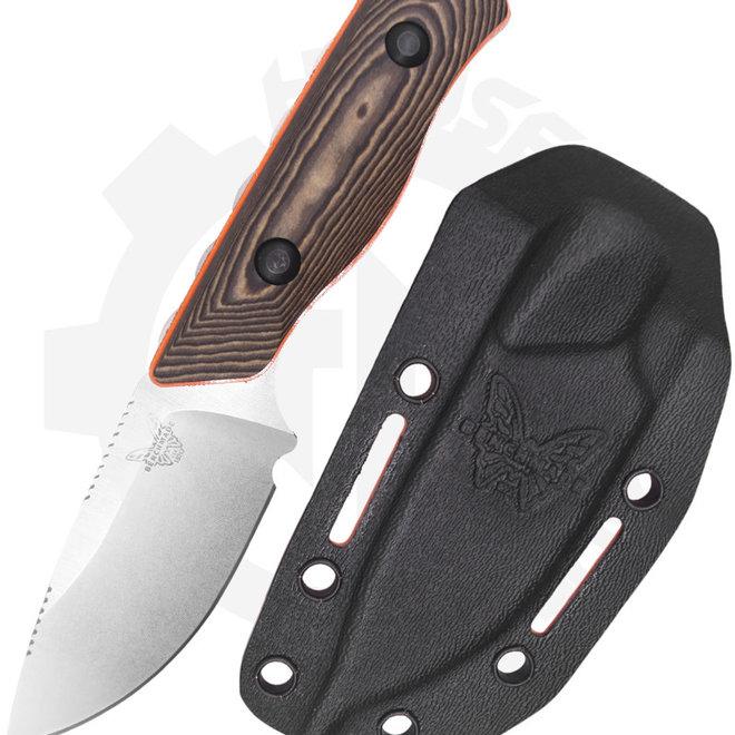 Benchmade Hunt Class Hidden Canyon Hunter 15017-1 - Richlite/Orange G11 (Fixed Blade Knife)