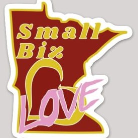 Small Biz Love sticker