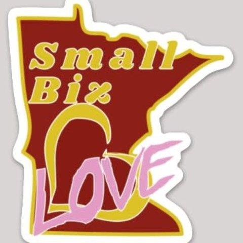 Small Biz Love sticker