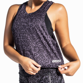 Virus Pulse Crop Tank