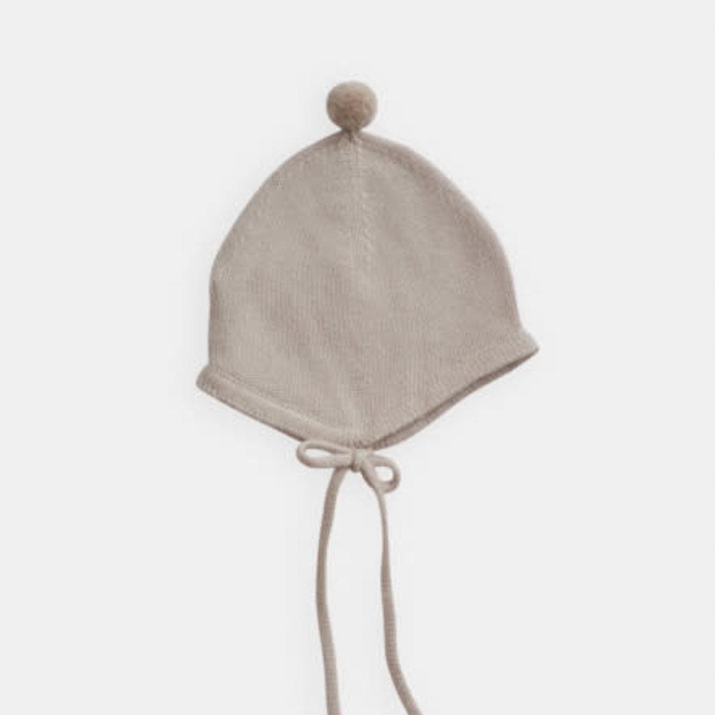 Belle Enfant Bonnet with Pompom