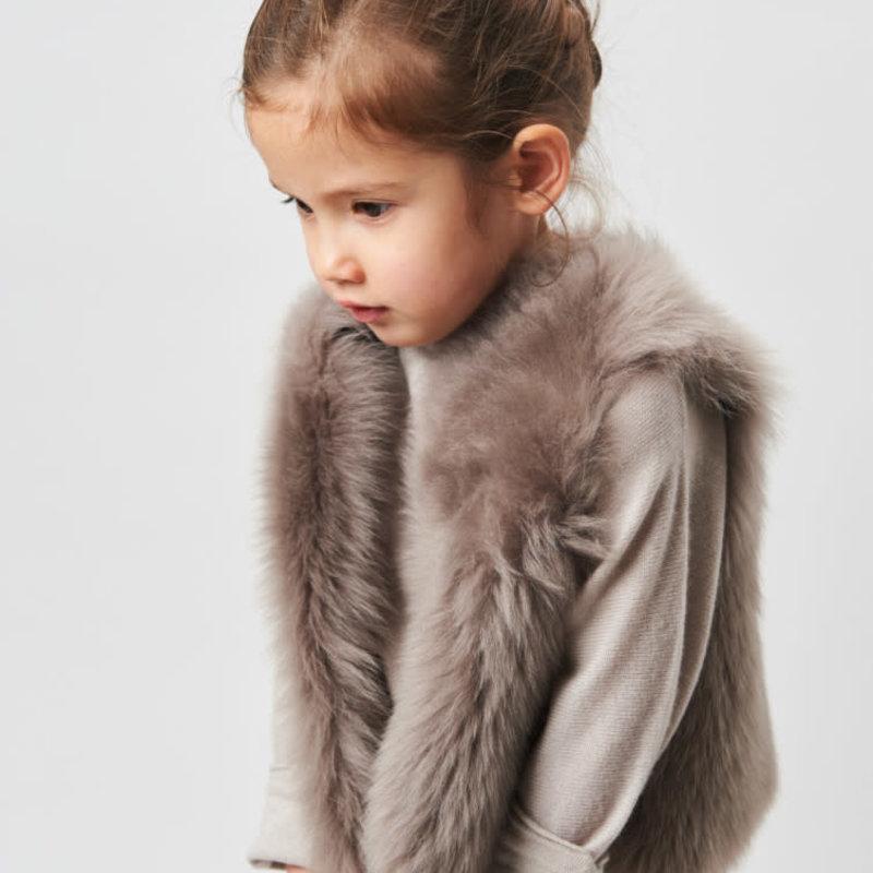 Belle Enfant Shearling Gilet