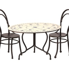 maileg mini dining table set
