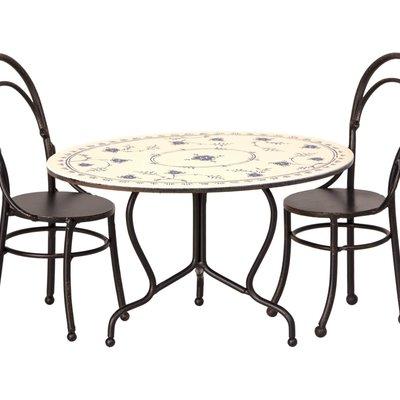 maileg mini dining table set