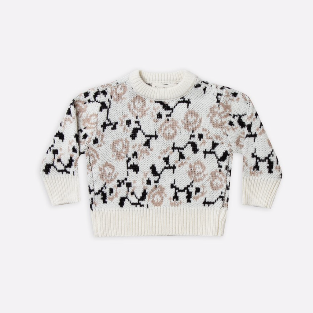 Rylee & Cru Rose Sweater
