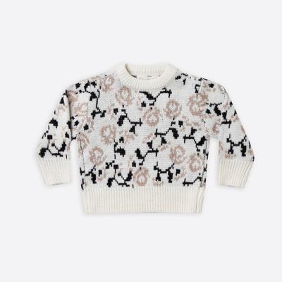 Rylee & Cru Rose Sweater