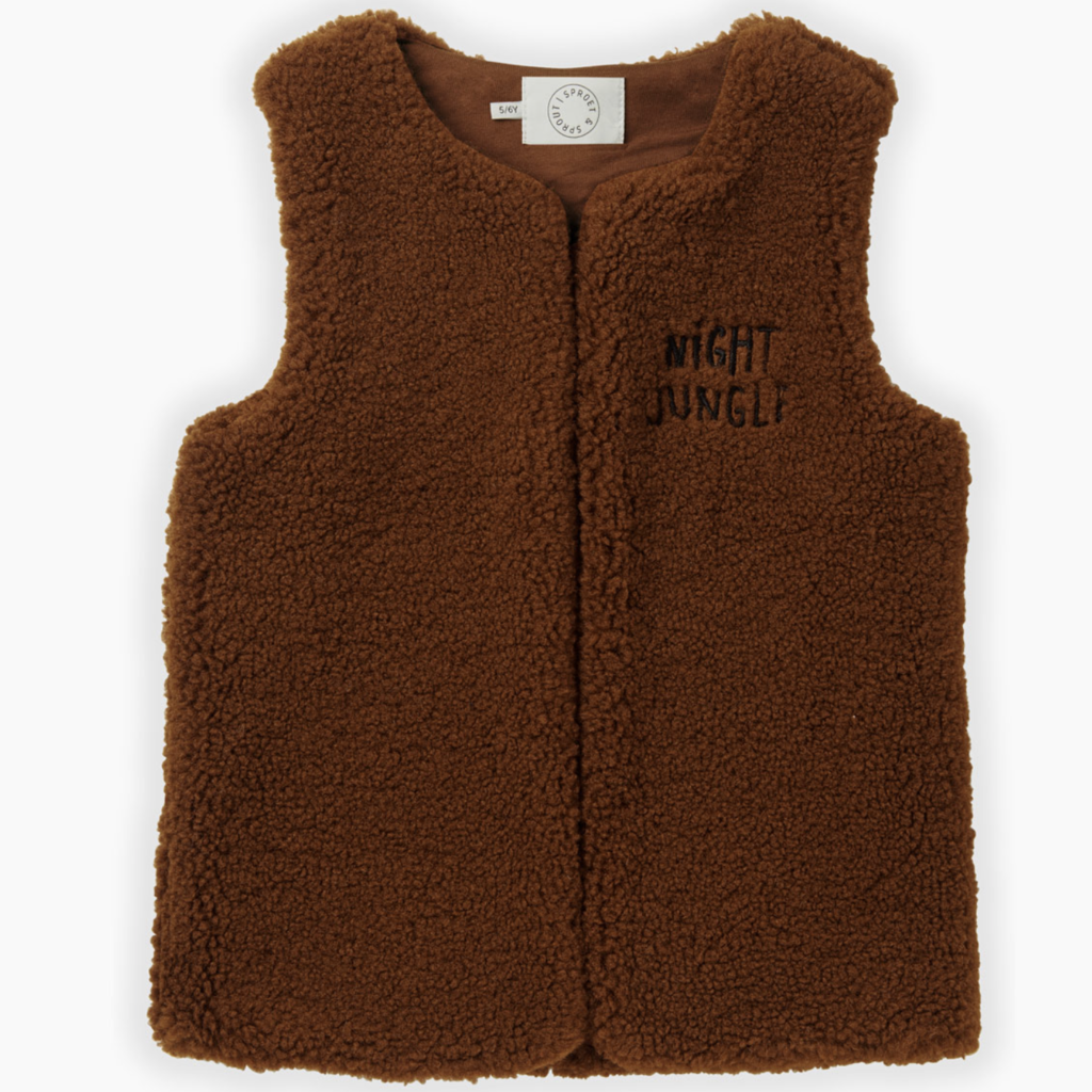 Sproet & Sprout Gilet Terry Vest