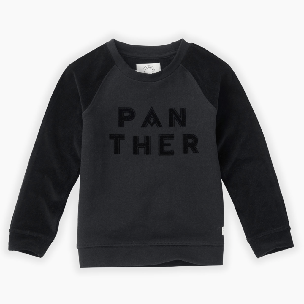 Sproet & Sprout Panther Sweatshirt