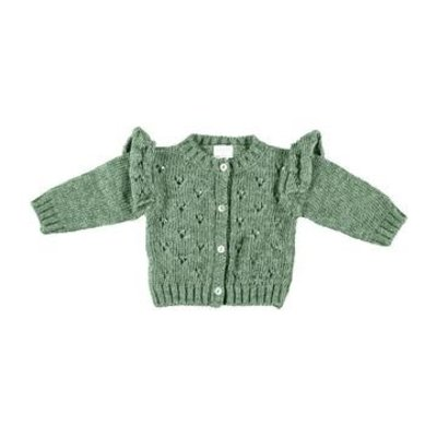 tocoto vintage Openwork knitted cardigan
