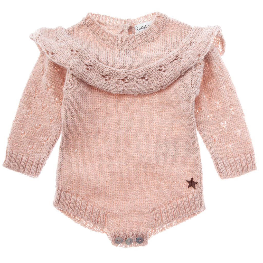 tocoto vintage Knitted baby one-piece