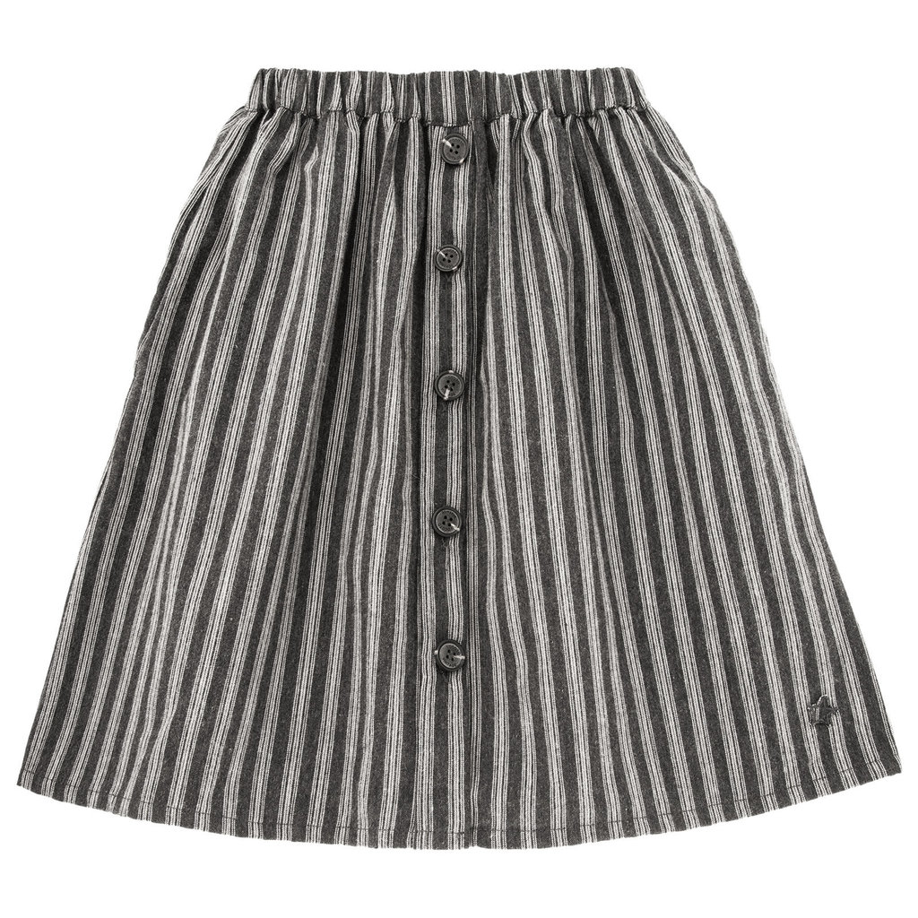 tocoto vintage Striped button skirt