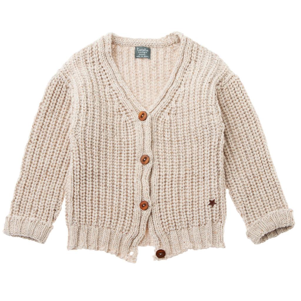 tocoto vintage Half cardigan stitch Cardigan