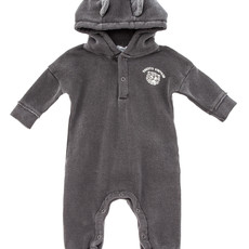 tocoto vintage Hooded onepiece with tiger's print