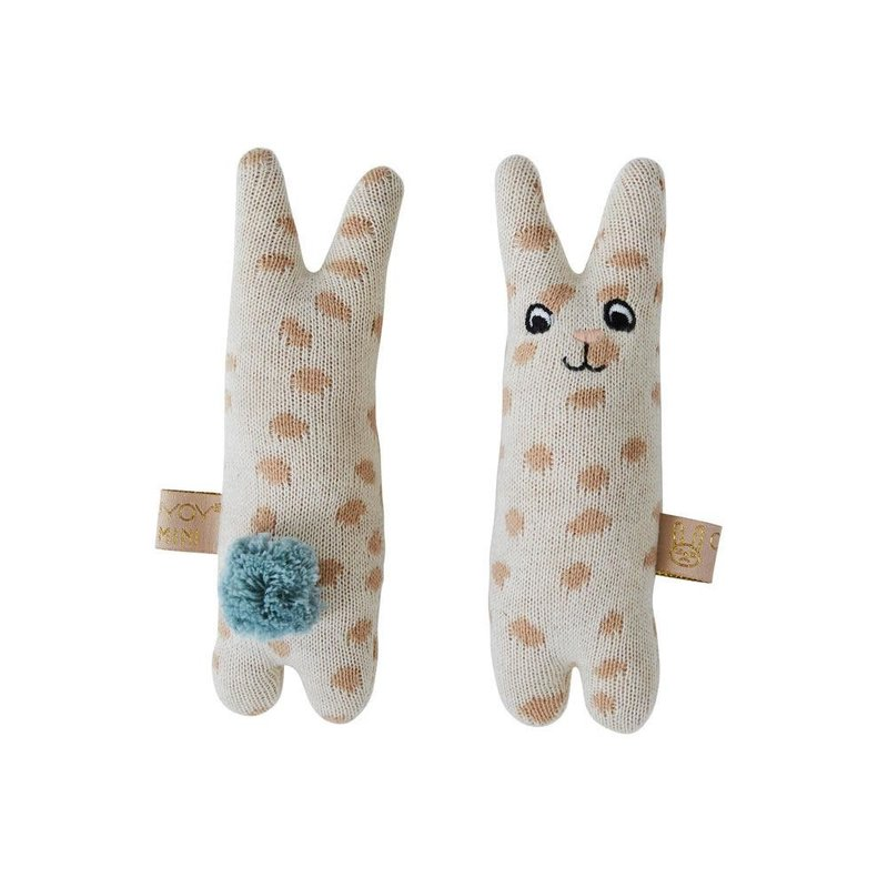 OYOY Baby Rattle Rabbit Nude