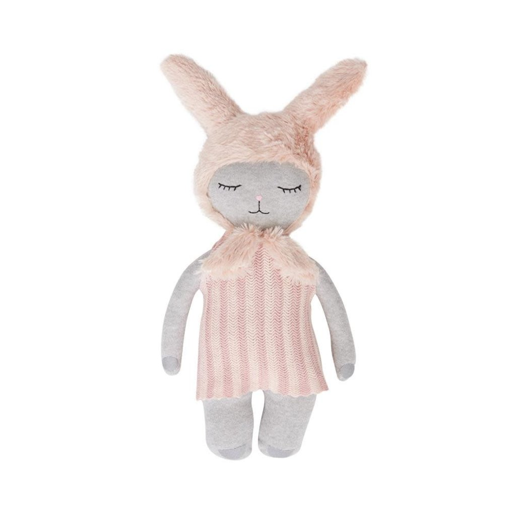 OYOY Bunny doll light grey rose