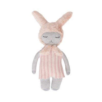 OYOY Bunny doll light grey rose